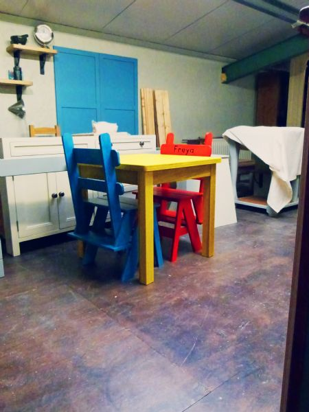 bantry playroom table  chairs (2)