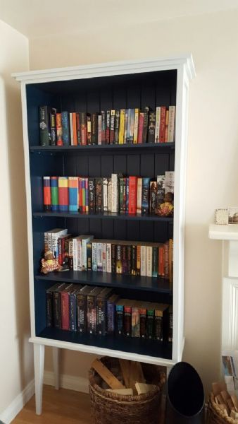 oonagh hague blue bookcase
